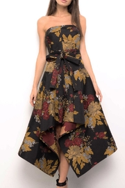 Blithe  Floral Strapless Dress - Product Mini Image