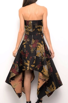 Blithe  Floral Strapless Dress - Alternate List Image