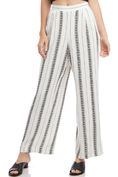 Fifteen Twenty Floral Striped Pants - Alternate List Image