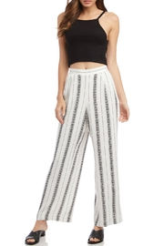 Fifteen Twenty Floral Striped Pants - Product Mini Image