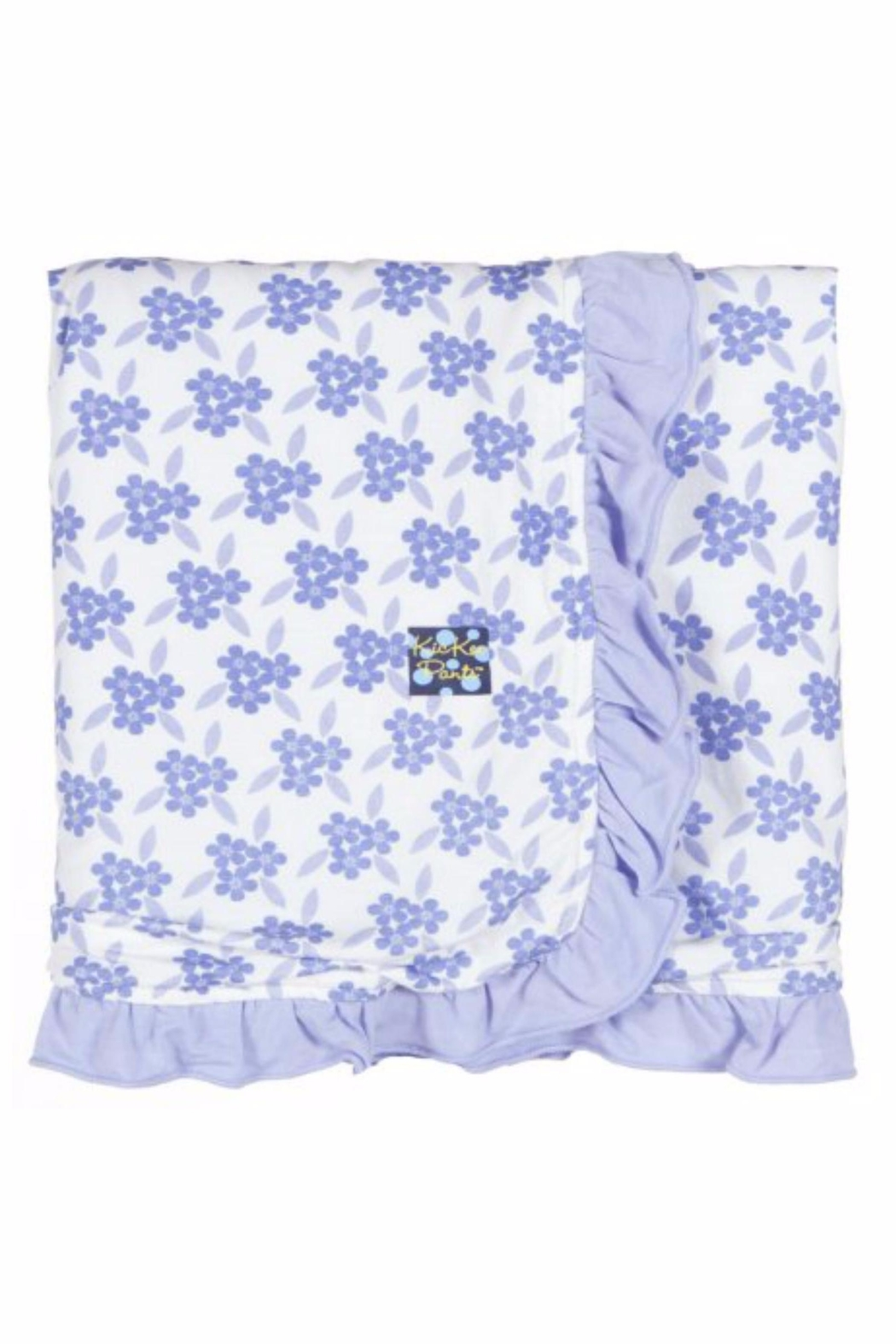 Kickee Pants Floral Stroller Blanket From Kansas By