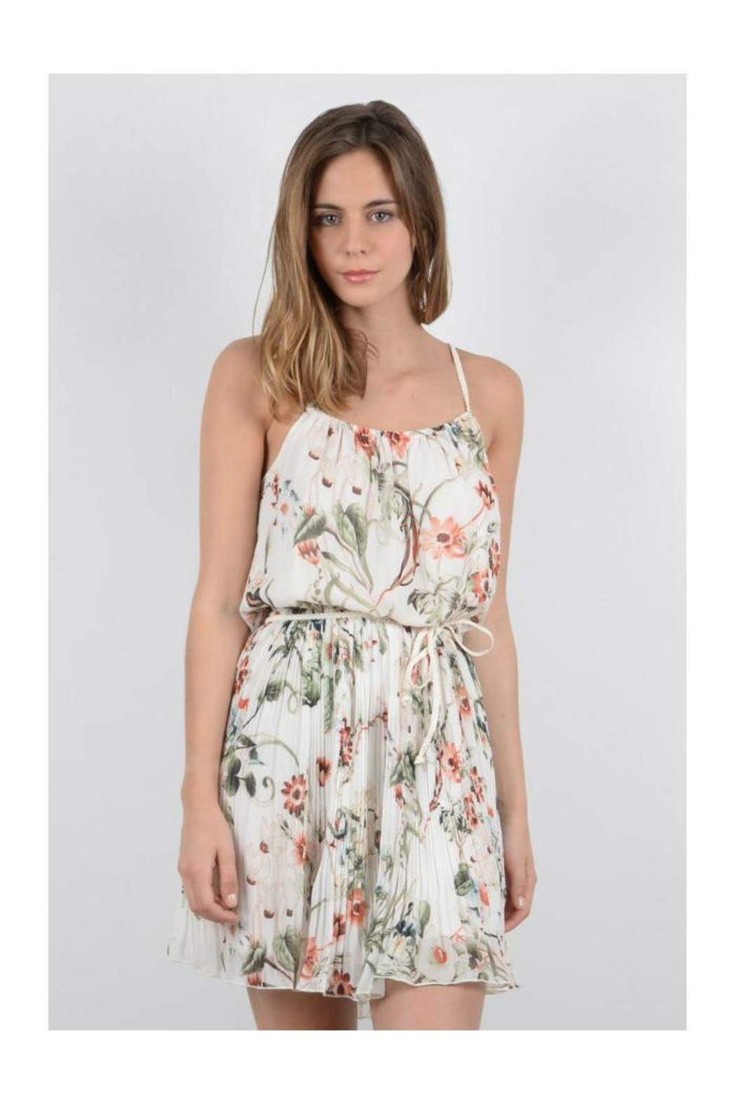 Molly Bracken Floral Sun Dress - Front Full Image