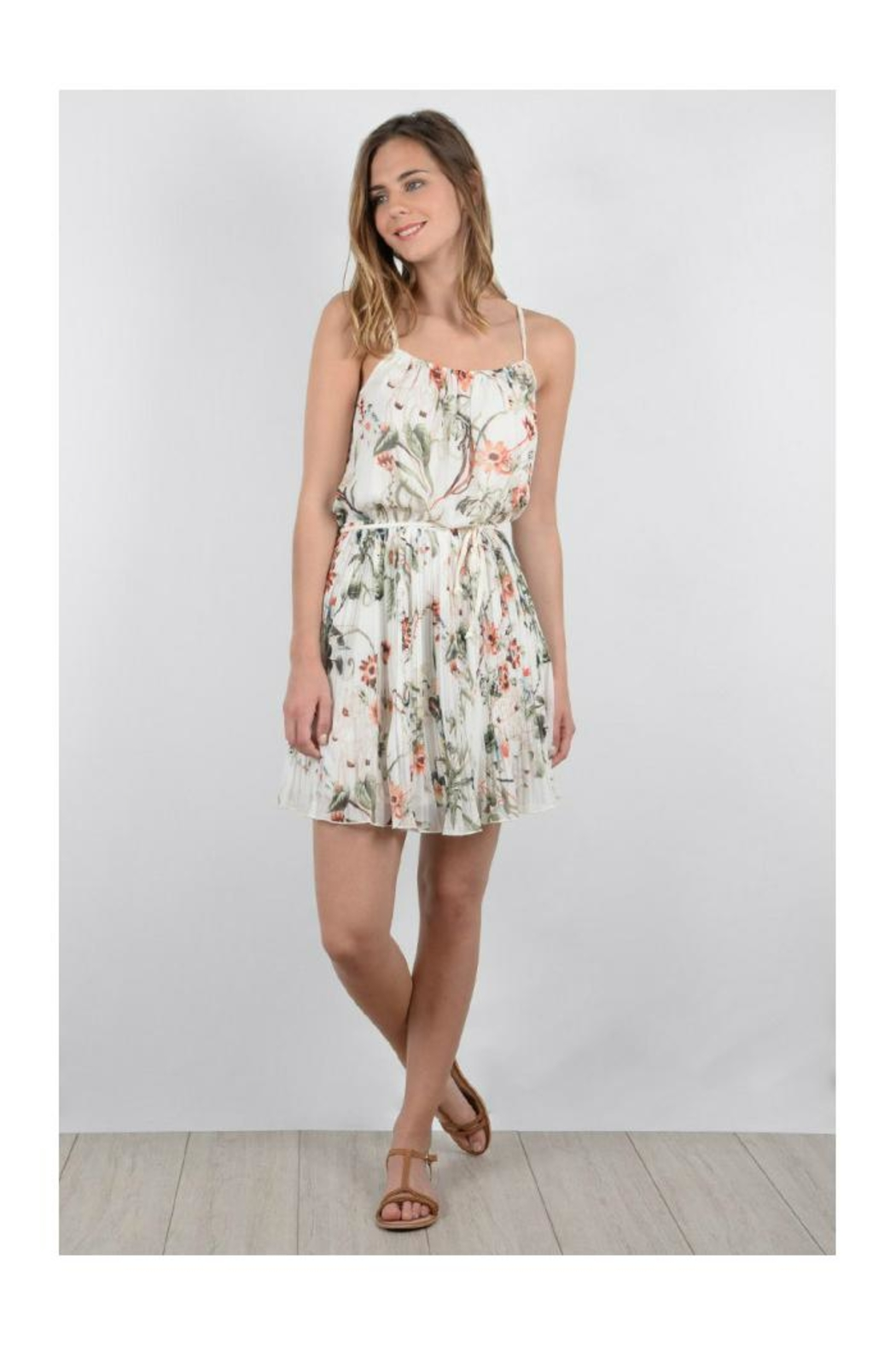Molly Bracken Floral Sun Dress - Main Image