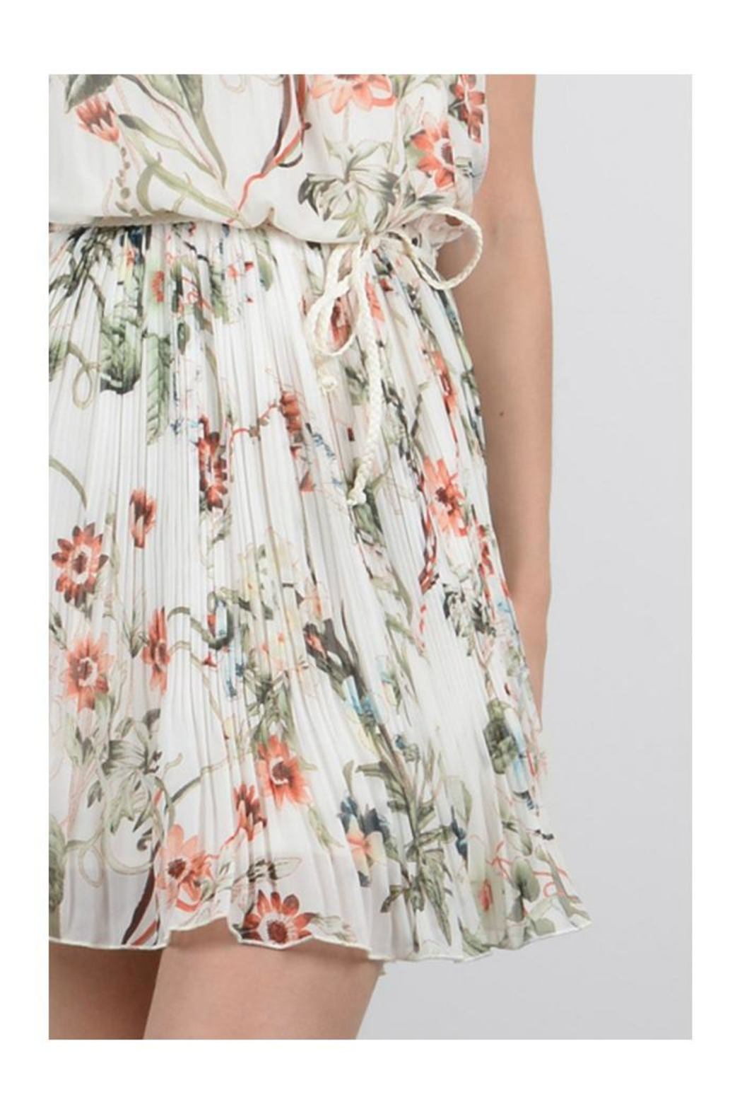 Molly Bracken Floral Sun Dress - Back Cropped Image