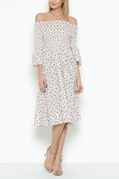 Esley Collection Floral Sundress - Product List Image