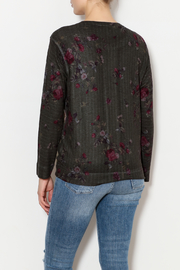 Nally & Millie Floral sweater - Back cropped