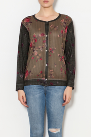 Nally & Millie Floral sweater - Front full body