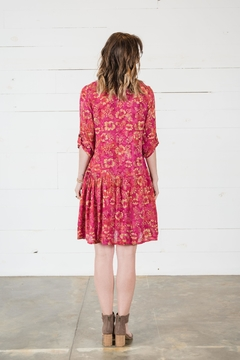 Go Fish Clothing Floral Swing Dress - Alternate List Image