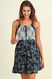 People Outfitter Floral Swing Dress - Product Mini Image