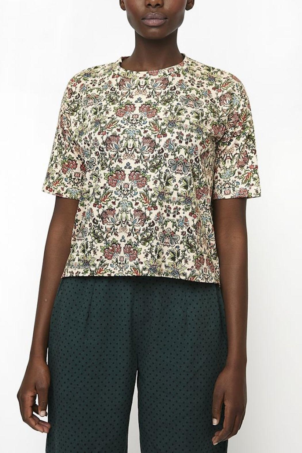 Compania Fantastica Floral T Shirt - Front Cropped Image