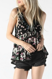 Angie Floral Tank - Front full body