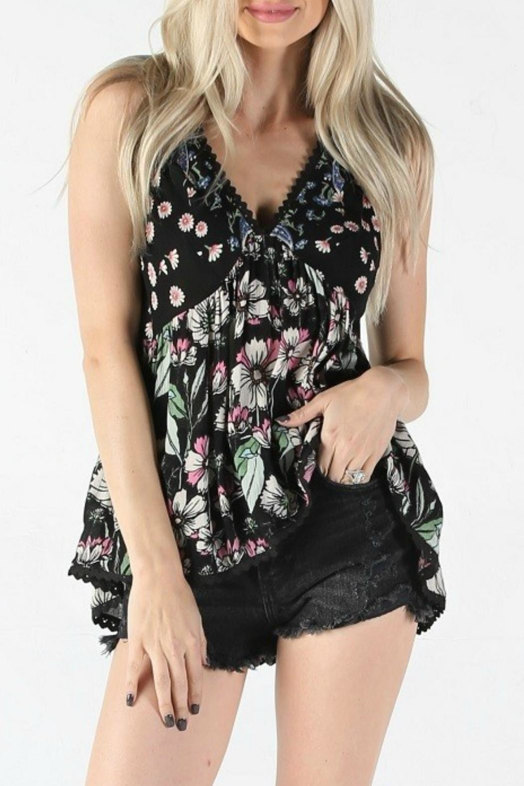 Angie Floral Tank - Main Image