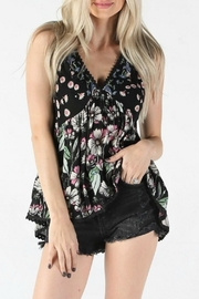 Angie Floral Tank - Product Mini Image
