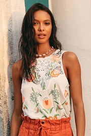 Free People Floral Tank - Product Mini Image