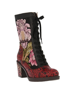 Spring Footwear Floral Tapestry Bootie - Product List Image