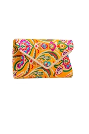 Pink Poodle Boutique Floral Tapestry Clutch - Product Mini Image