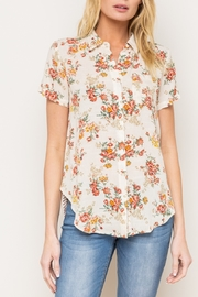 Mystery Floral Taupe Mix - Front cropped