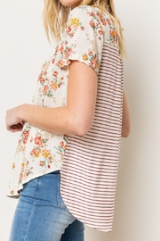 Mystery Floral Taupe Mix - Side cropped