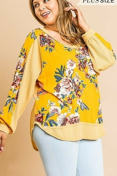 Umgee USA Floral Thermal Tunic - Product List Image