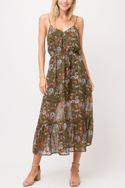 Cozy Casual Floral Tie Dress - Product Mini Image