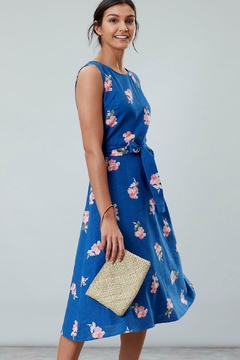 Joules Floral Tie Dress - Product List Image