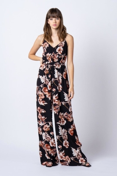 rokoko Floral Tie Jumpsuit - Alternate List Image