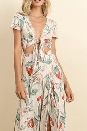 dress forum Floral Tie Top - Product Mini Image