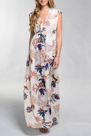 Lovestitch Floral Tiered Maxi - Product Mini Image