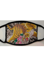 The Nu Vintage Floral Tiger Face Maks - Product Mini Image