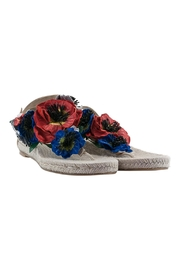 ras Floral Tong Espadrille - Product Mini Image