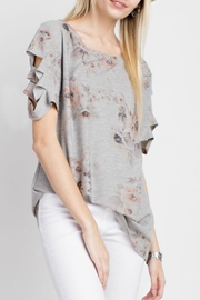 12pm by Mon Ami Floral Top - Product Mini Image