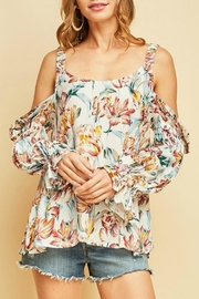 Entro Floral Top - Front cropped