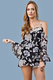 People Outfitter Floral Top - Product Mini Image