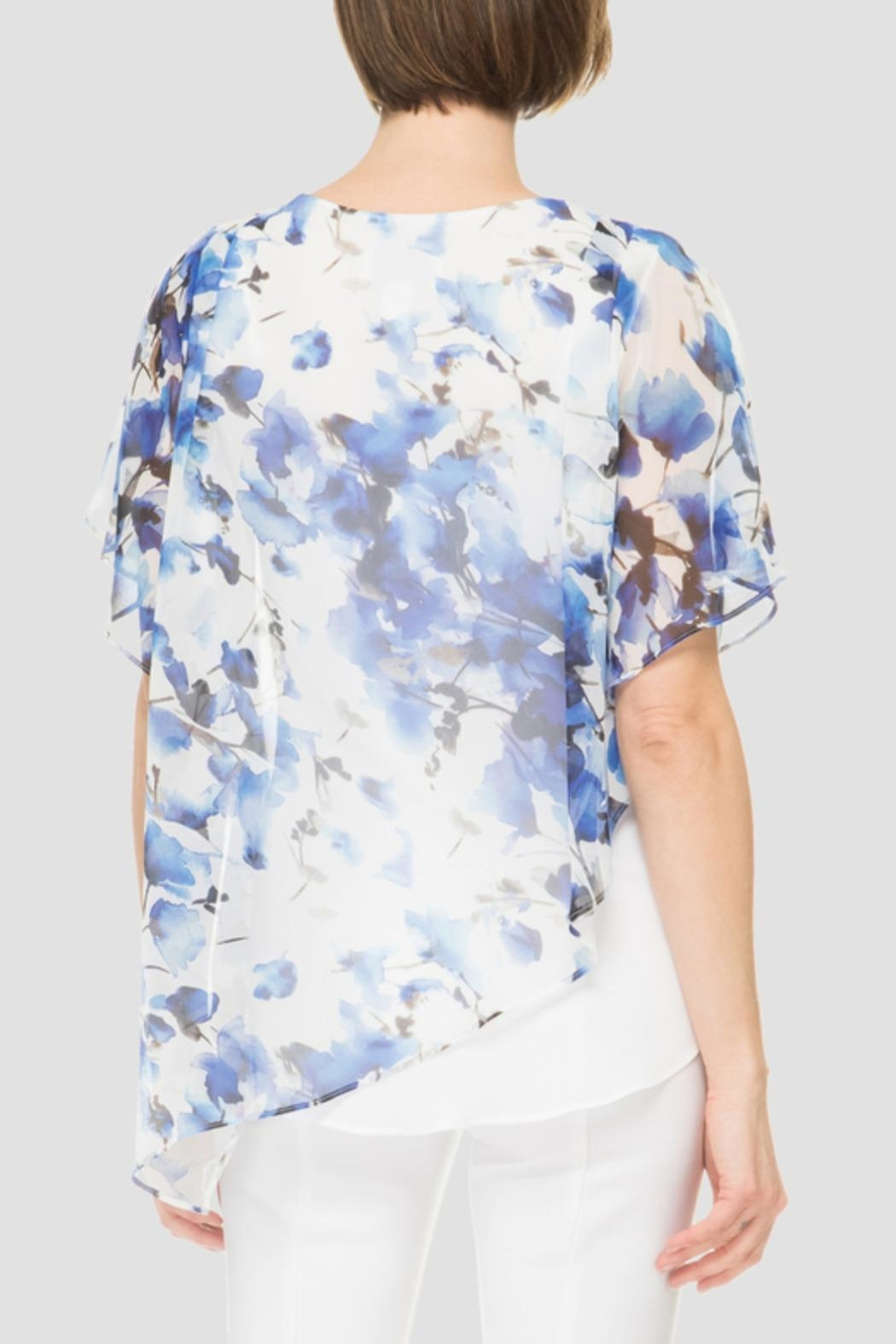 Joseph Ribkoff Floral Top - Front Full Image