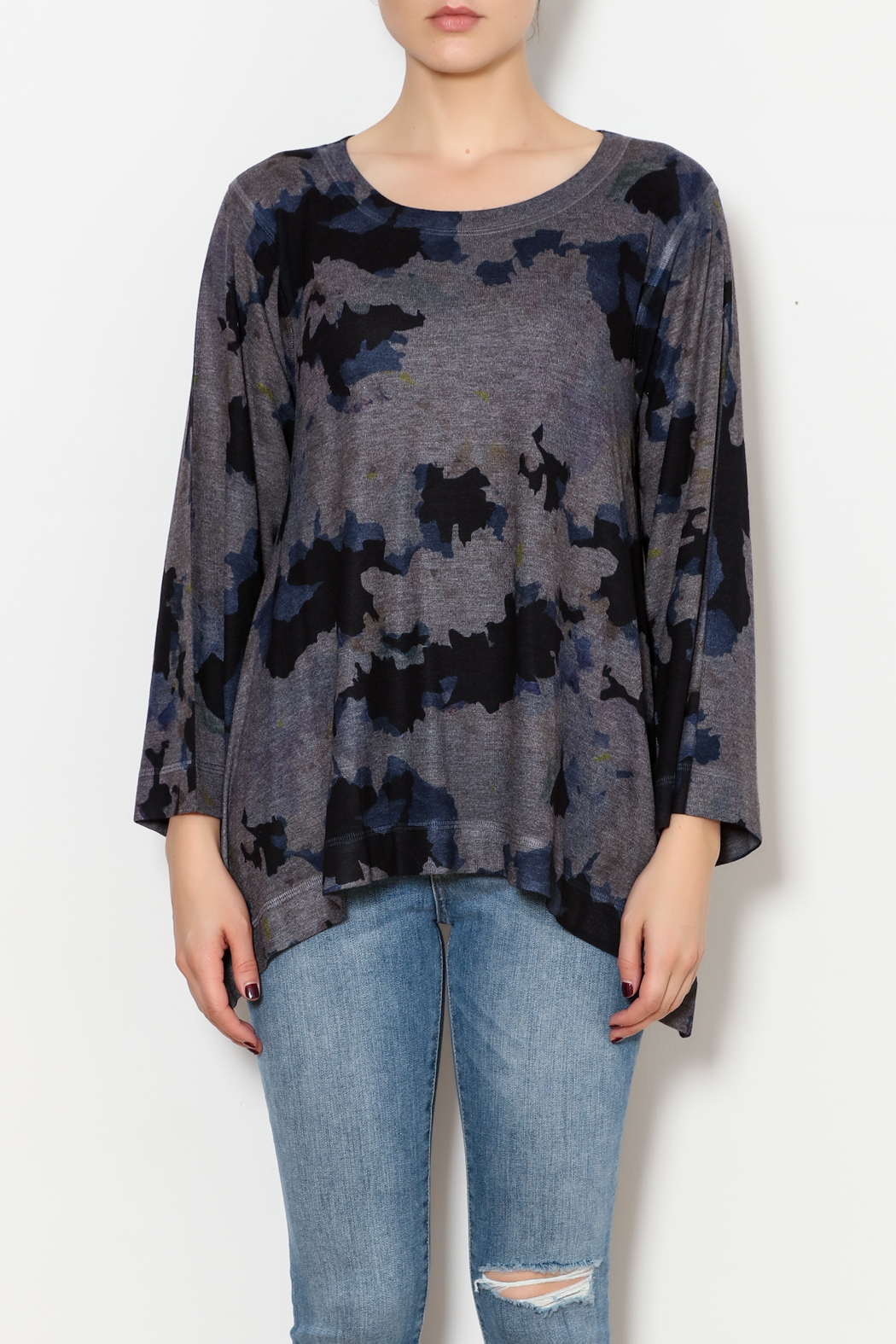 Nally & Millie Floral Top - Front Full Image
