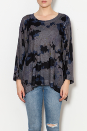 Nally & Millie Floral Top - Front full body