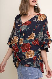 Umgee Floral Top - Product Mini Image