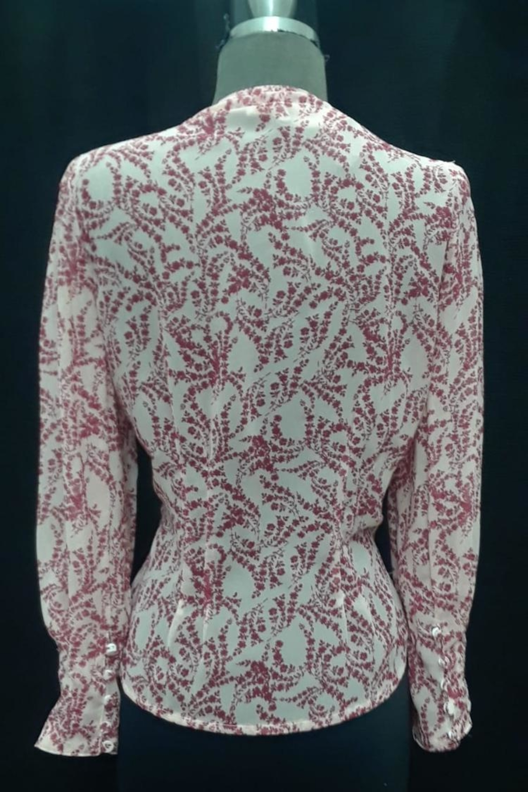 Olivaceous Floral Top - Front Full Image