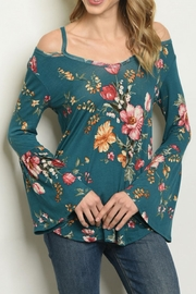 Sweet Claire Floral Top - Product Mini Image