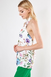 Do & Be Floral Top - Front full body