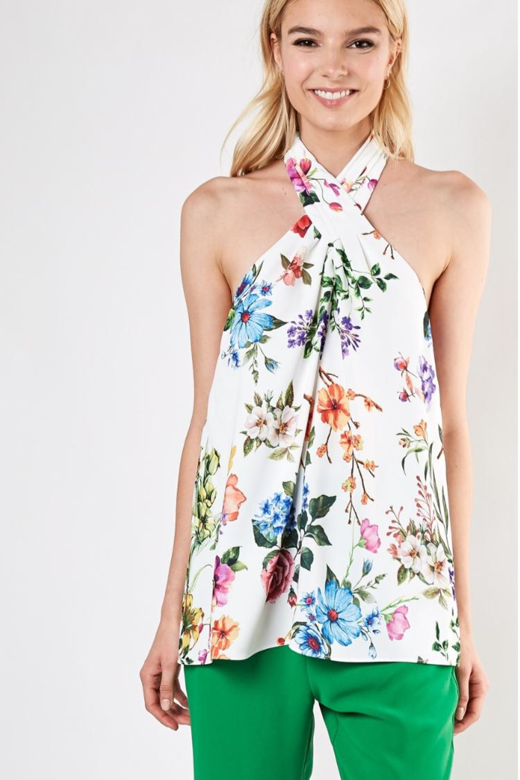 Do & Be Floral Top - Main Image