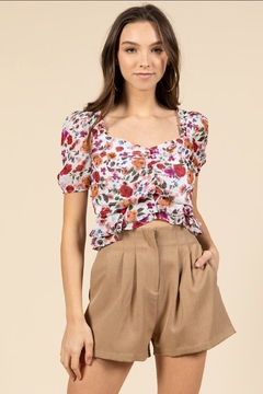 essue Floral Top - Product List Image