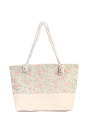 Riah Fashion Floral Tote Bag - Product Mini Image