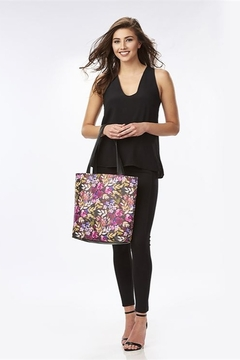 Gift Craft Floral Tote Purse - Product List Image