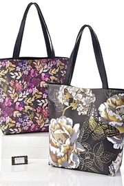 Gift Craft Floral tote purse - Front full body