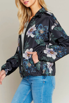 Thread & Supply Floral Track Jacket - Product List Image