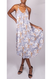 Final Touch Floral Trapeze Dress - Product Mini Image