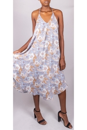 Final Touch Floral Trapeze Dress - Side cropped