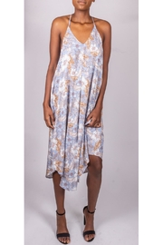 Final Touch Floral Trapeze Dress - Front full body
