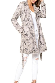 love token Floral Trench Coat - Product Mini Image